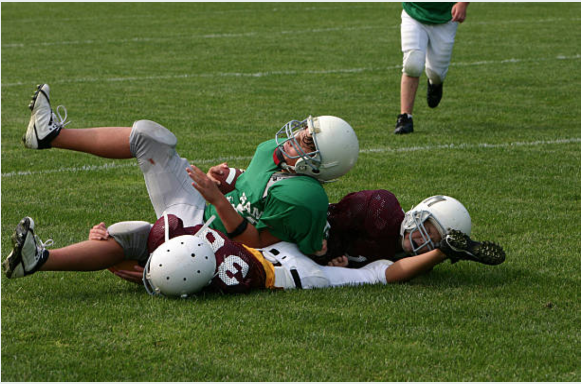 football tackle impact