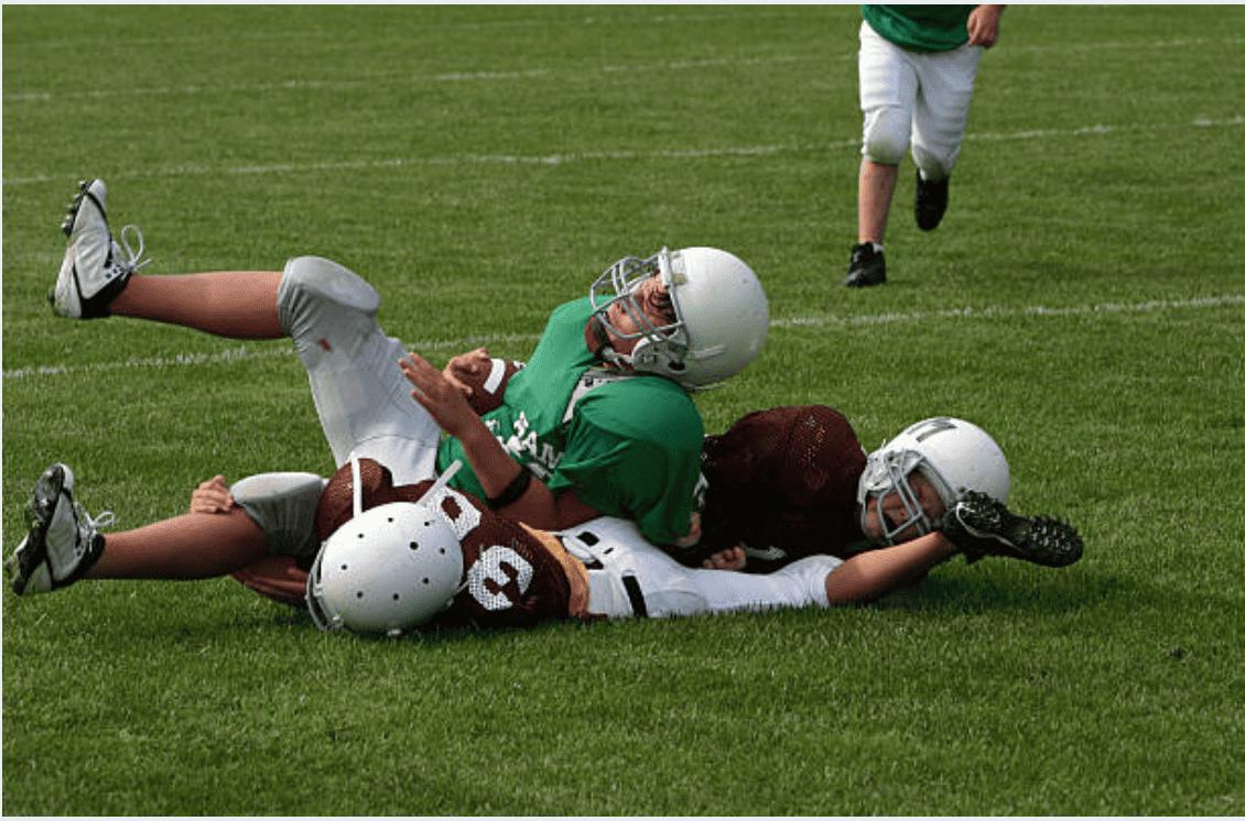 football tackle impact