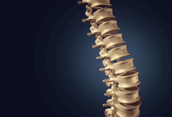 spinal column strain